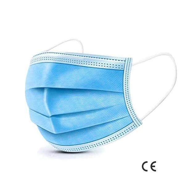 Maseczka ochronna trzywarstwowa z filtrem